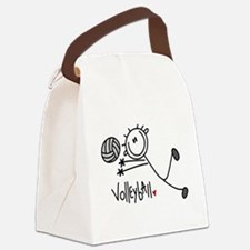 jdvolleyballone.png Canvas Lunch Bag