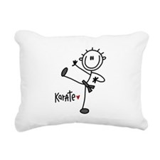 JDKARATEONE.png Rectangular Canvas Pillow
