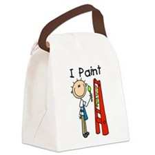 ipaintartist.png Canvas Lunch Bag