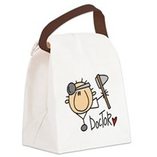 headdoctormale.png Canvas Lunch Bag