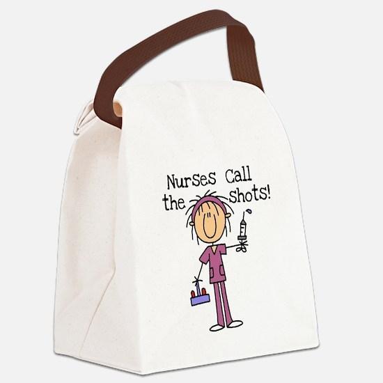 sticknursshots.png Canvas Lunch Bag