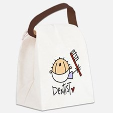 headdentistmale.png Canvas Lunch Bag