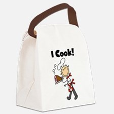 ICOOKMALECHEF.png Canvas Lunch Bag