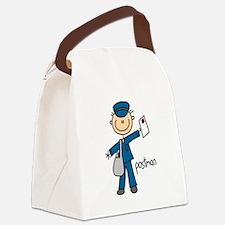 postmanstick.png Canvas Lunch Bag