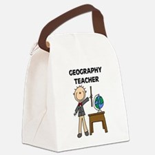 GEOGRAPHYTEACHER.png Canvas Lunch Bag