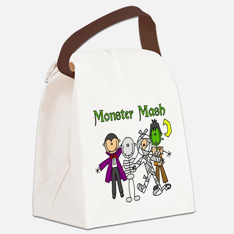 monstermashhallow.png Canvas Lunch Bag