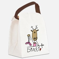 REINDEERDANCER.png Canvas Lunch Bag
