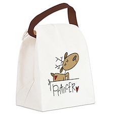 REINDEERPRANCER.png Canvas Lunch Bag