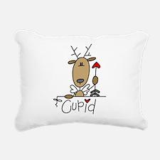 REINDEERCUPID.png Rectangular Canvas Pillow