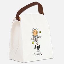 ASTROMOONWALK.png Canvas Lunch Bag