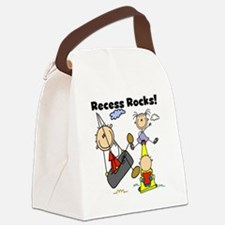 RECESSROCKStshirt.png Canvas Lunch Bag
