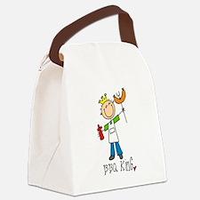 bbqkingtee.png Canvas Lunch Bag
