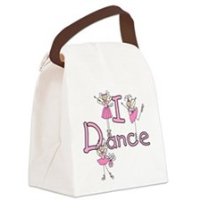 IDANCEGIRLBALLERINA.png Canvas Lunch Bag