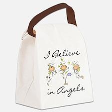 believeinangelstee.png Canvas Lunch Bag