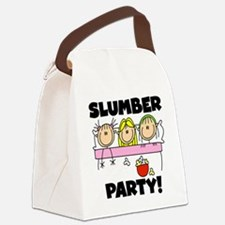 stickslumberpartyabc.png Canvas Lunch Bag