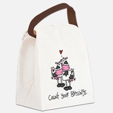 cowntblessings.png Canvas Lunch Bag