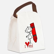 colorsred.png Canvas Lunch Bag
