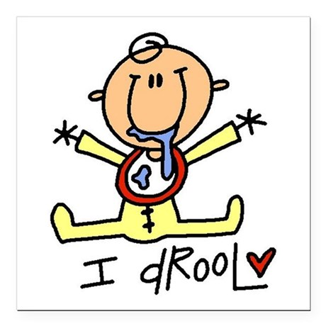 """idrooltee.png Square Car Magnet 3"""" x 3"""""""