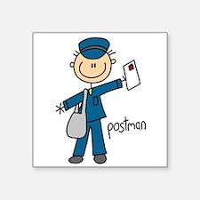 "postmanstick.png Square Sticker 3"" x 3"""