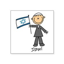 """wwisrael.png Square Sticker 3"""" x 3"""""""
