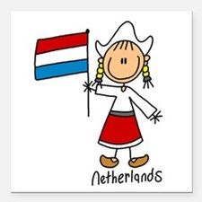 """wwwnetherlands.png Square Car Magnet 3"""" x 3"""""""