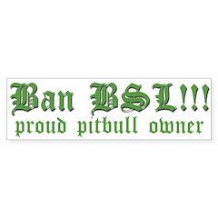 Anti-BSL custom Bumper Bumper Sticker