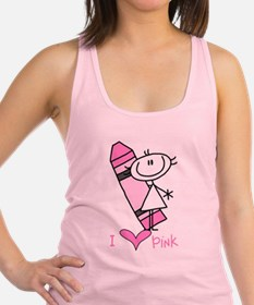 COLORSPINK.png Racerback Tank Top