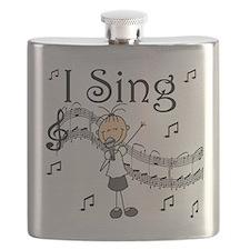 I Sing (FEMALE) Flask