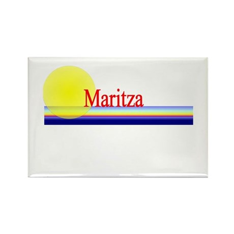 Maritza Rectangle Magnet (10 pack)