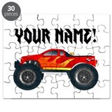 Kids monster truck Puzzles