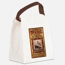Sinking of the Titanic Canvas Lunch Bag