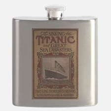 Sinking of the Titanic Flask