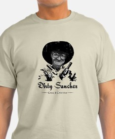 Dirty Sanchez Grill & Cantina Ash Grey T-Shirt