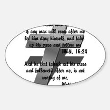Take your Cross Sticker (Oval)
