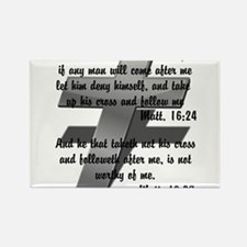 Take your Cross Rectangle Magnet (10 pack)