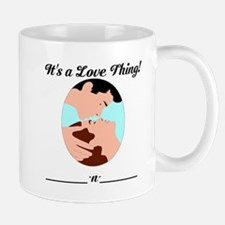 Custom love shirt Mug