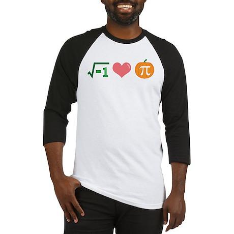 i Love Pumpkin Pi -- Baseball Jersey