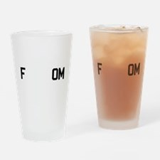 fREADom Drinking Glass