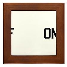 fREADom Framed Tile