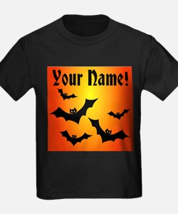 Personalized Halloween Bats T