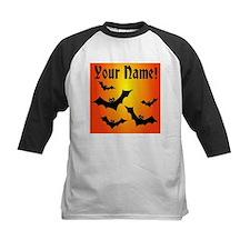 Personalized Halloween Bats Tee
