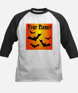 Personalized Halloween Bats Tee