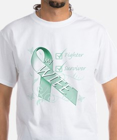 Wife is a Fighter and Survivor.png Shirt
