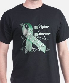 Sister is a Fighter and Survivor.png T-Shirt