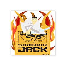 "samuraijacktwo.png Square Sticker 3"" x 3"""