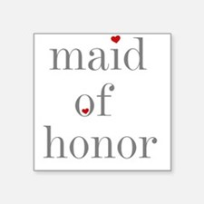 """greymaidhonorS.png Square Sticker 3"""" x 3"""""""