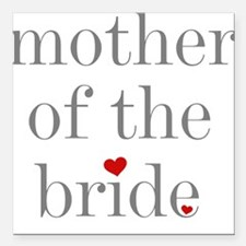 """GREYMOMBRIDE.png Square Car Magnet 3"""" x 3"""""""