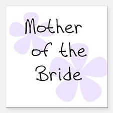 "Unique Mother of the groom Square Car Magnet 3"" x 3"""