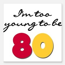 "youngbe80.png Square Car Magnet 3"" x 3"""