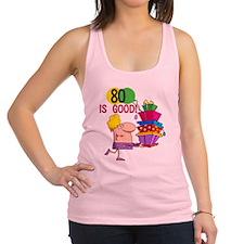 80ISGOOD.png Racerback Tank Top